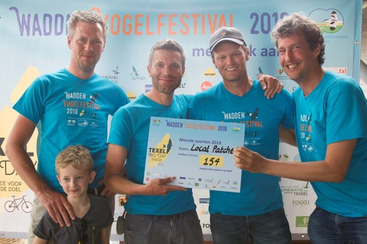 Local Patchers winnaars Texel Big Day 13mei2018 Harvey van Diek HVD2482 voor pres Small