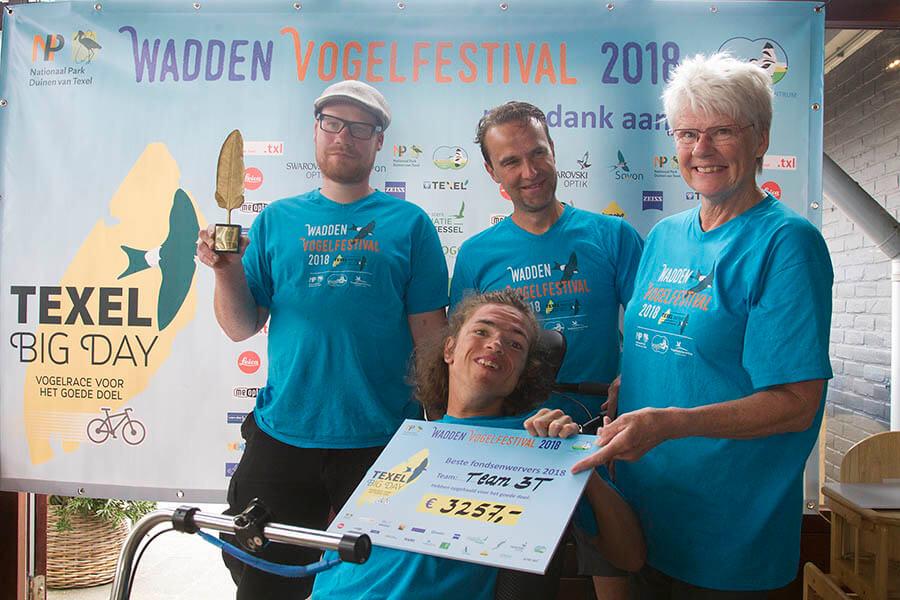 Team 3T winnaars meeste geld Texel Big Day 13mei2018 Harvey van Diek HVD2502 voor site